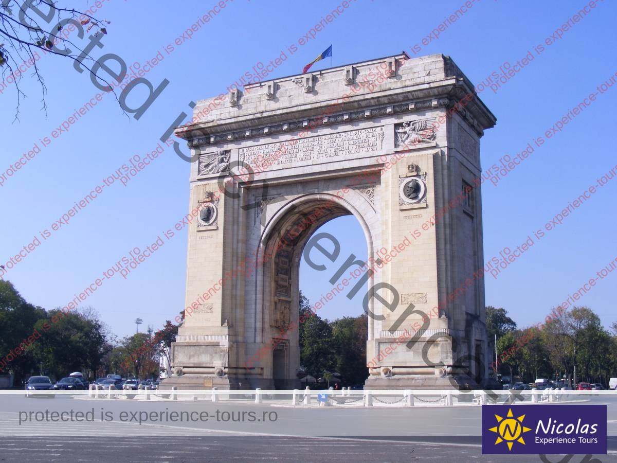 Arch Of Triumph Bucharest Private Trips
