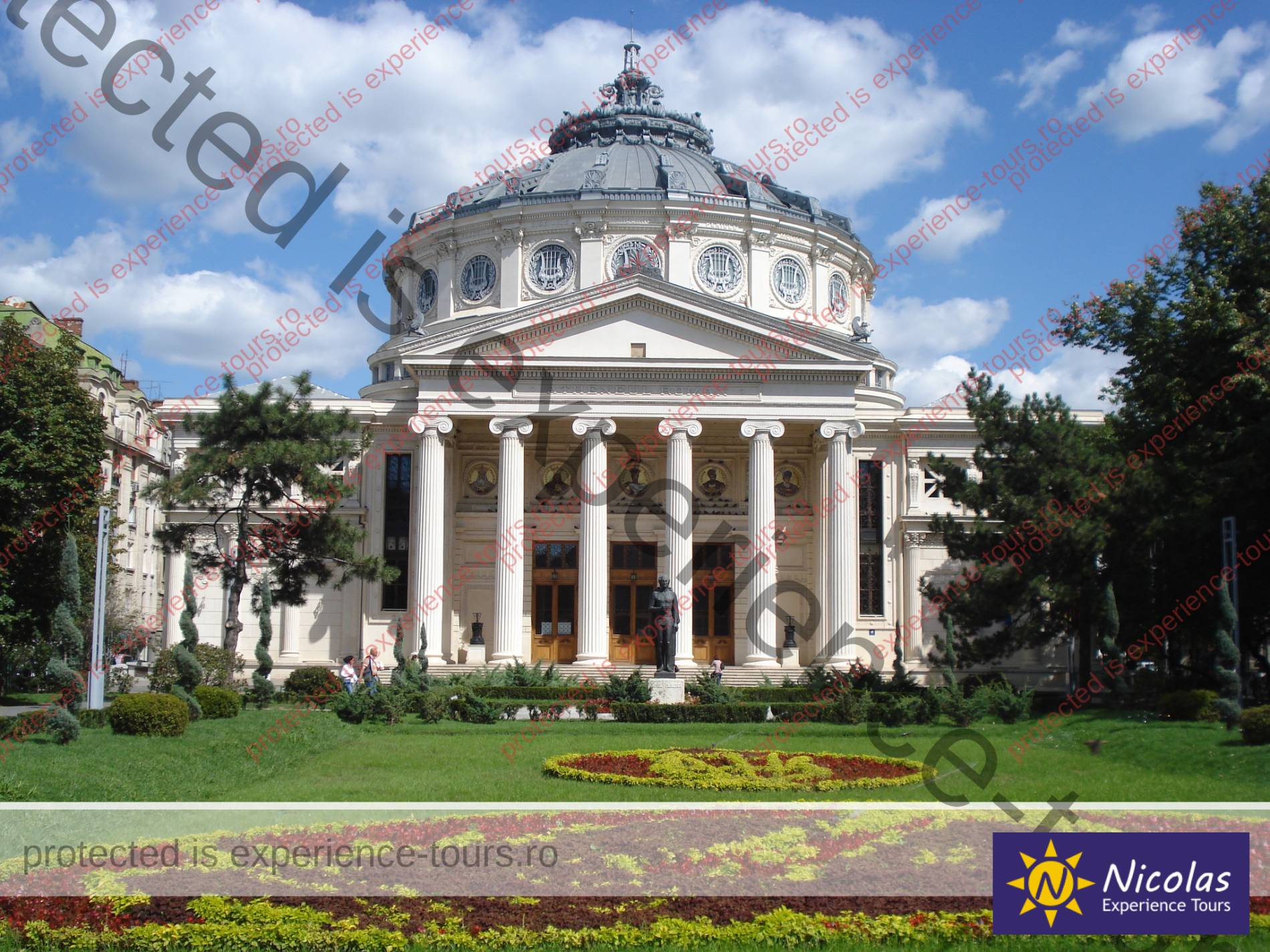 Romanian Atheneum Bucharest Private City Tours