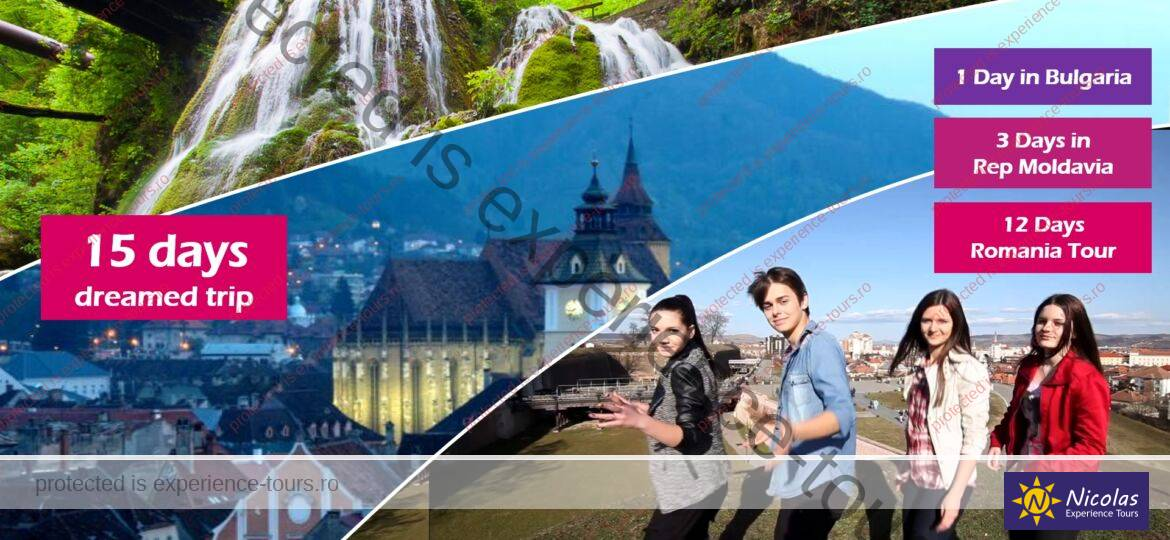 Private Tour in Romania 15 Days